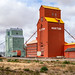 Grain elevators of Nanton