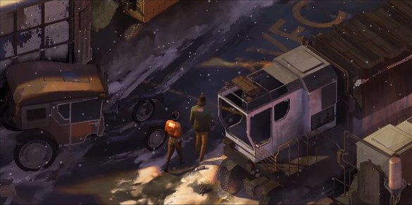 Disco Elysium - Environments
