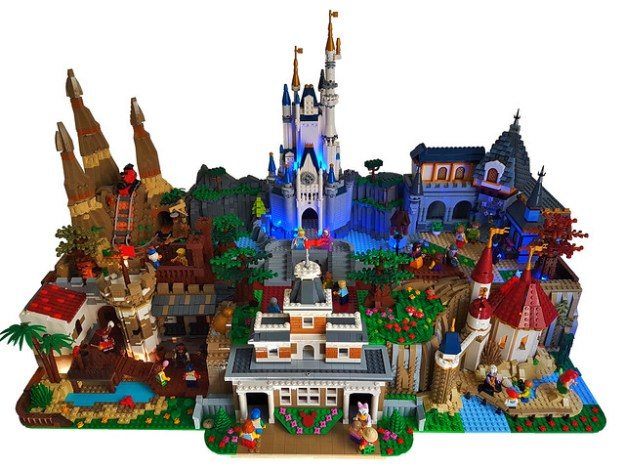 Magic Kingdom LEGO Diorama