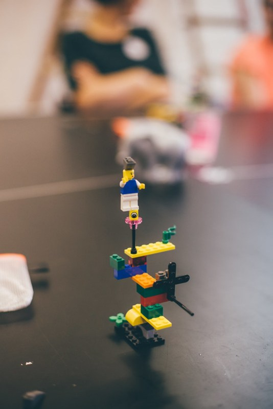 Building lego models for design sprints