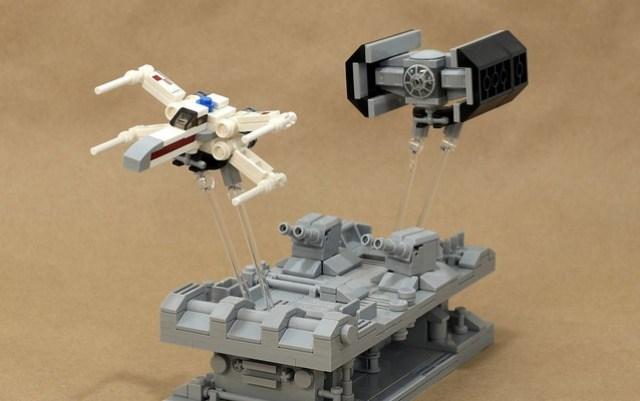 MOC animé Star Wars assaut Etoile Noire