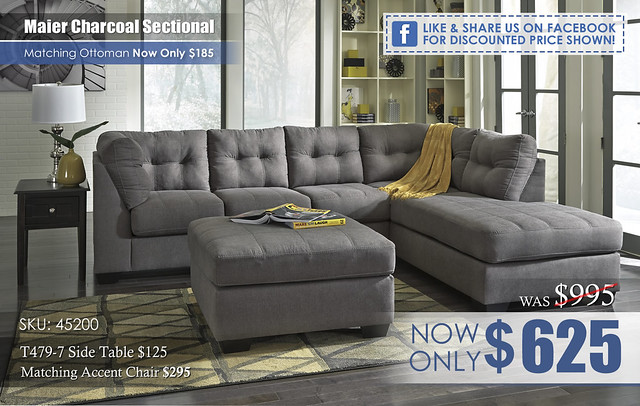 Maier Charcoal Sectional 45200_FBdiscount