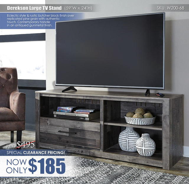 Clearance Special_Derekson Large TV Stand_W200-68_safety