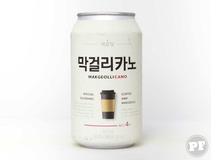 Café Alcoólica Coreano por PratoFundo.com