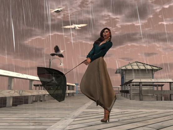 losing my umbrella