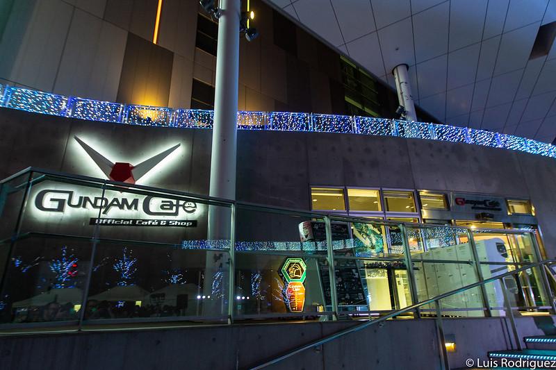 Gundam Cafe en Odaiba