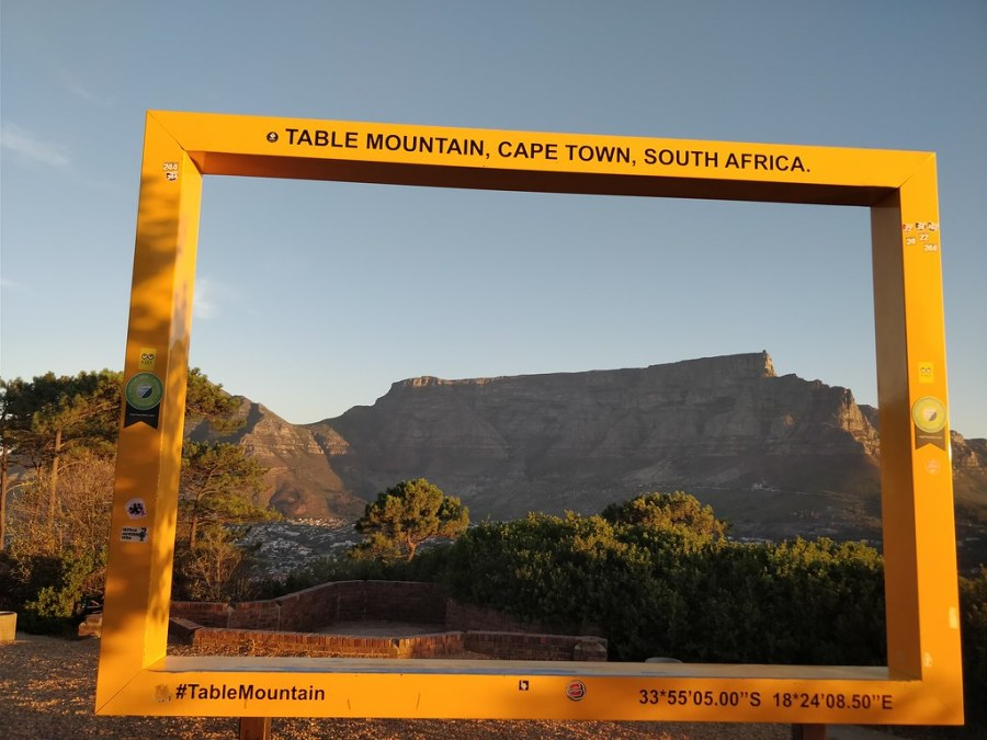 Cape Town South Africa Travel Blog Table Mountain