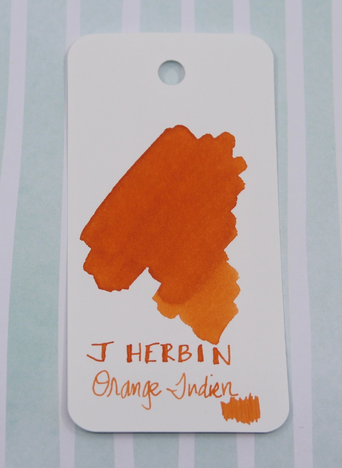 J. Herbin Orange Indien