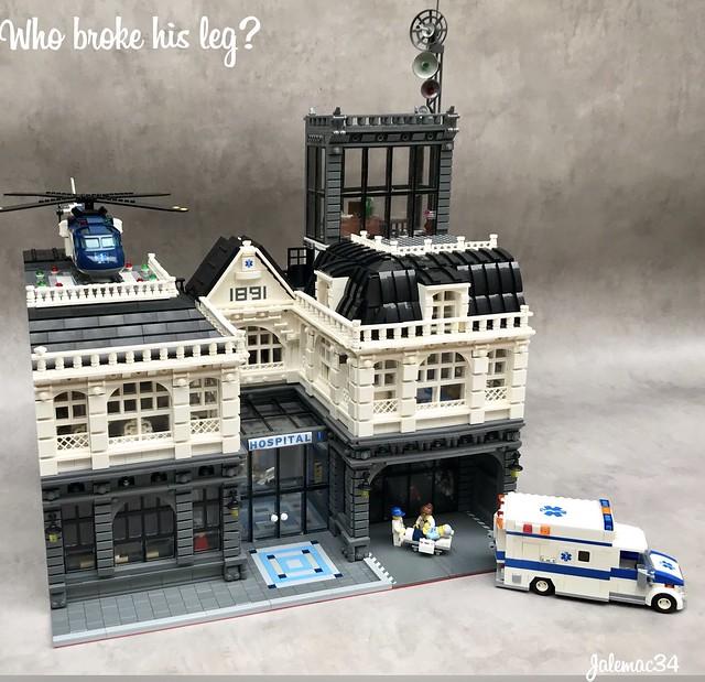 LEGO Hopital Modular