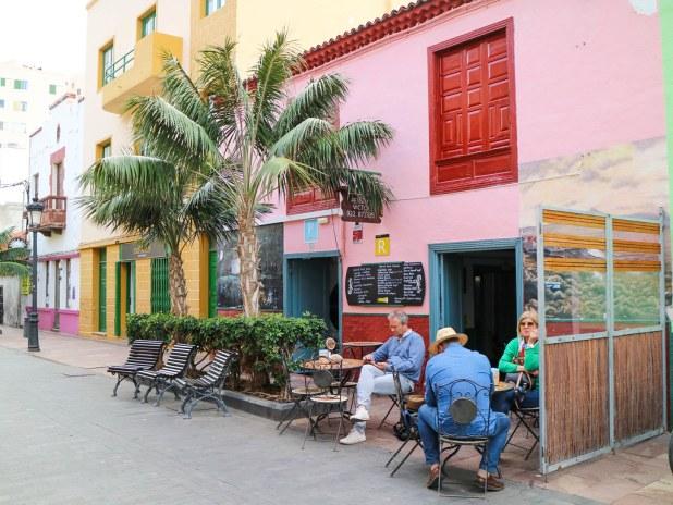 Calle Real en San Sebastián La Gomera