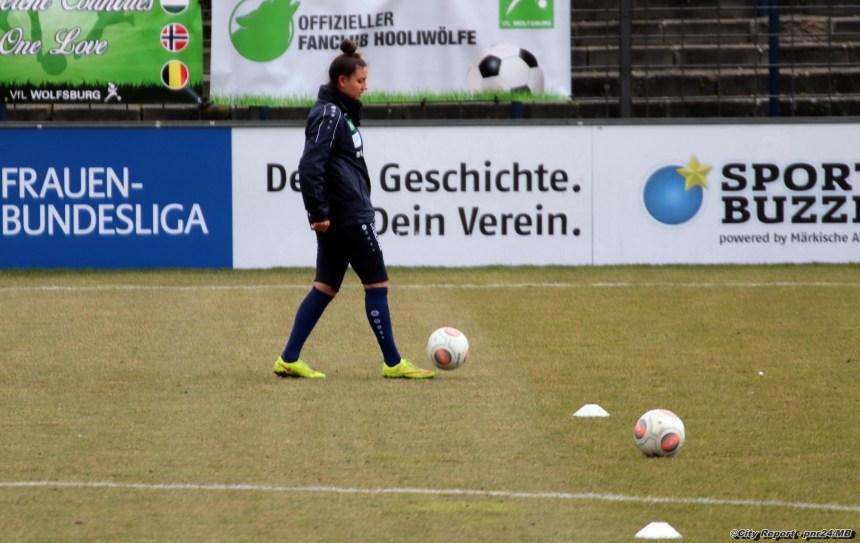 Impressionen vom Bundesligaspiel 1.FFC Turbine Potsdam gegen VFL Wolfsburg