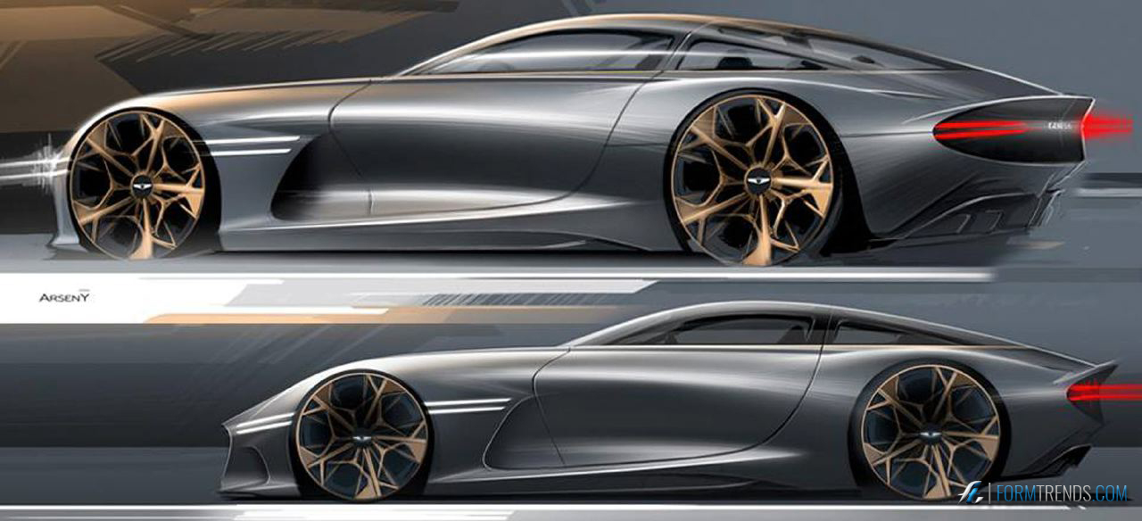 Essential Elegance The Genesis Essentia Concept Is The Star Of New York