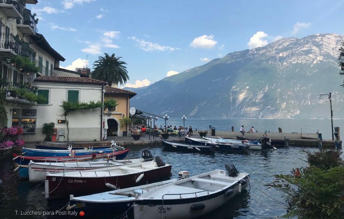 Ciclovia no Lago di Garda