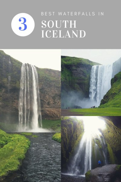 Three of the Best Waterfalls in South Iceland