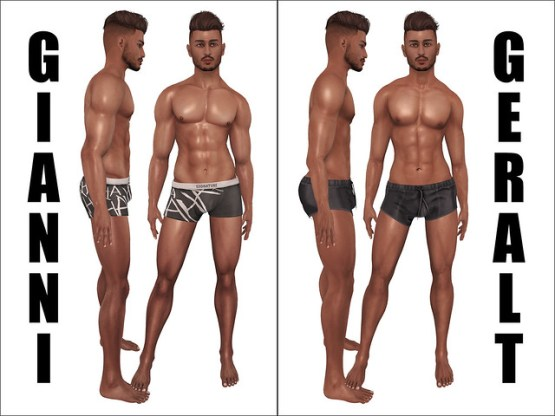 Signature Gianni and Geralt Bodies Comparison
