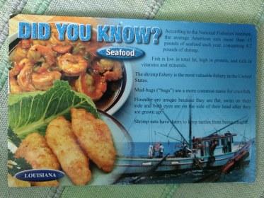 Seafood fun facts!