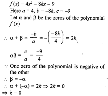 Class 10 RD Sharma Pdf Chapter 2 Polynomials