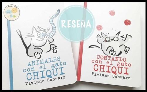 Reseña libros El gato Chiqui
