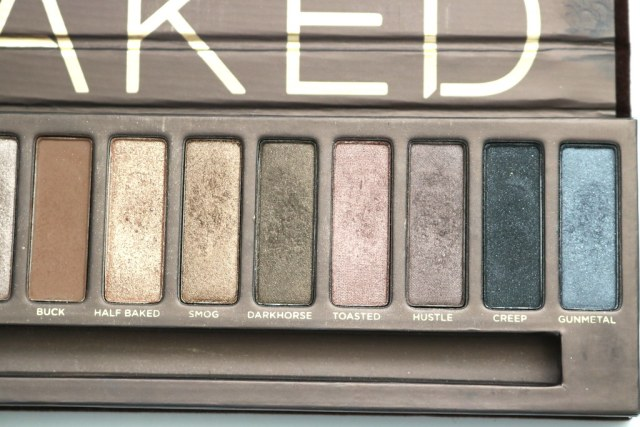 Right side of palette after 1 month