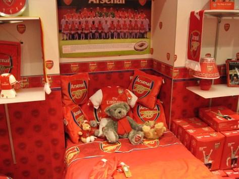 Arsenal Bedroom
