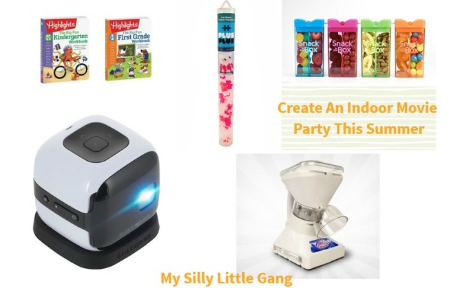 Create An Indoor Movie Party This Summer