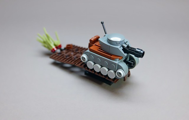how to build a mini tank