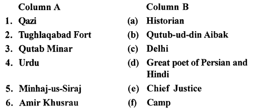 ICSE Solutions for Class 7 History and Civics - Government, Society and Culture Under The Delhi Sultanate