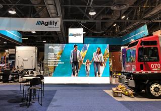 Agility Fuel Solutions Backlit SEG