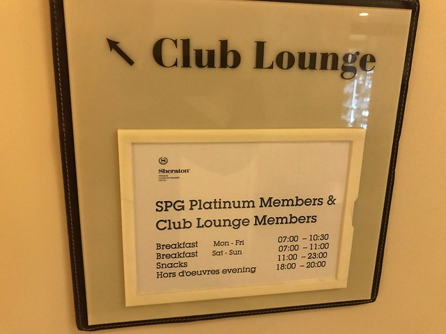 Club Lounge - Sheraton Prague