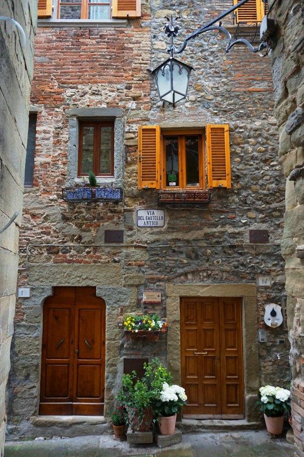 Old town building in Anghiari