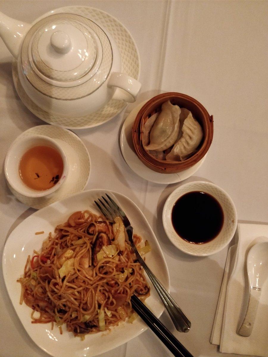 the monogamous Chinese hong kong mid level escalator restaurant