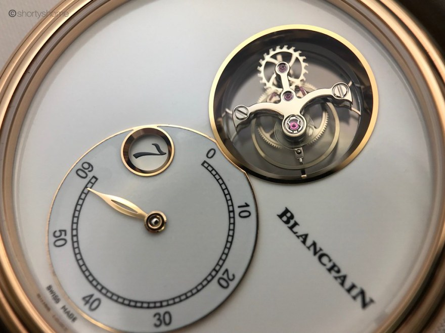 Blancpain Tourbillon Volant Heure Sautante Minute Rétrograde