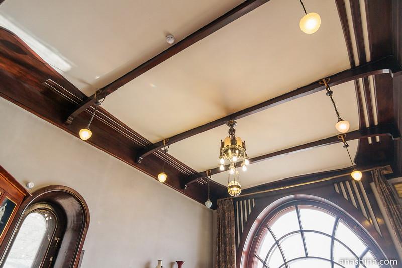 Потолок в кабинете, особняк Рябушинского, Москва