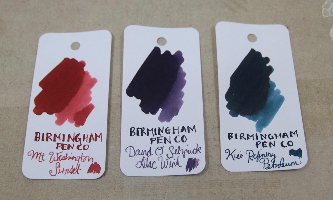Birmingham Pen Co Ink