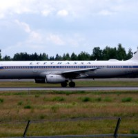 Lufthansa D-AIDV, OSL ENGM Gardermoen