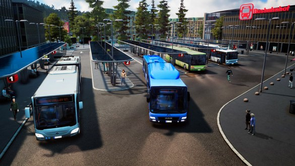 Bus Simulator 2018 - Bus Station