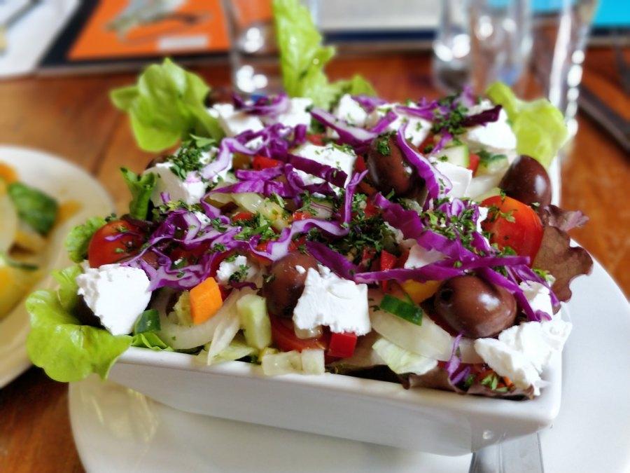greek salad mrs simpsons dullstroom south africa restaurant