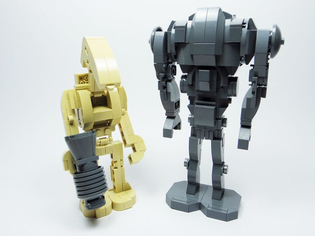 Battle Droid & Super Battle Droid