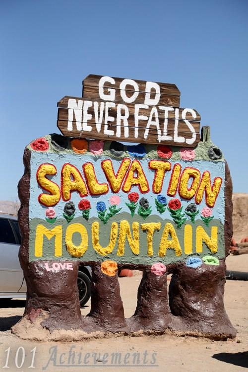 Salton Sea & Salvation Mountain