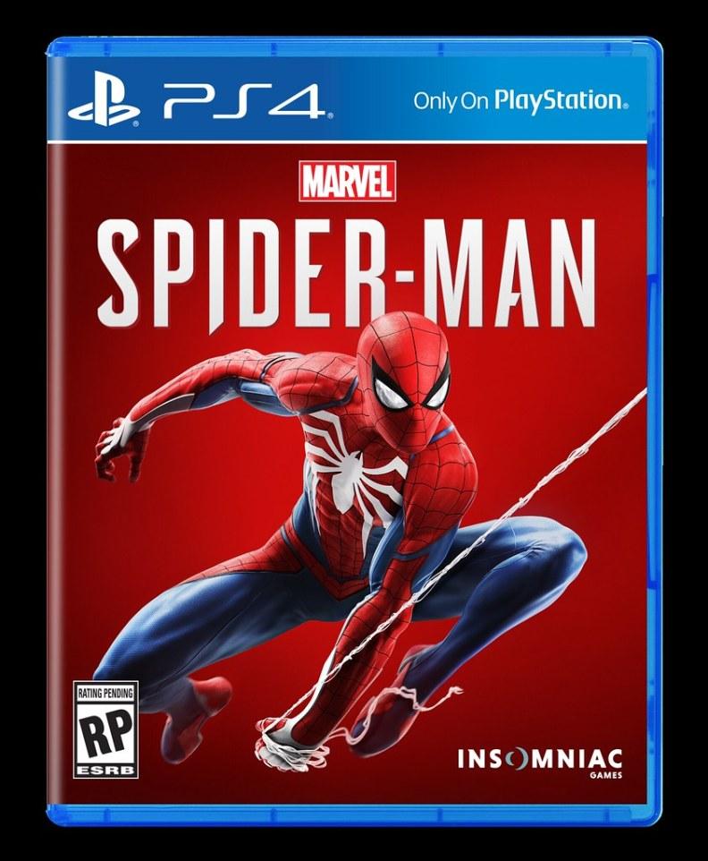 Marvel's Spider Man PS4 Box Art