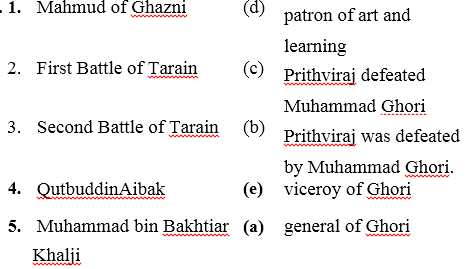 ICSE Solutions for Class 7 History and Civics - The Turkish Invaders - HIS-333340
