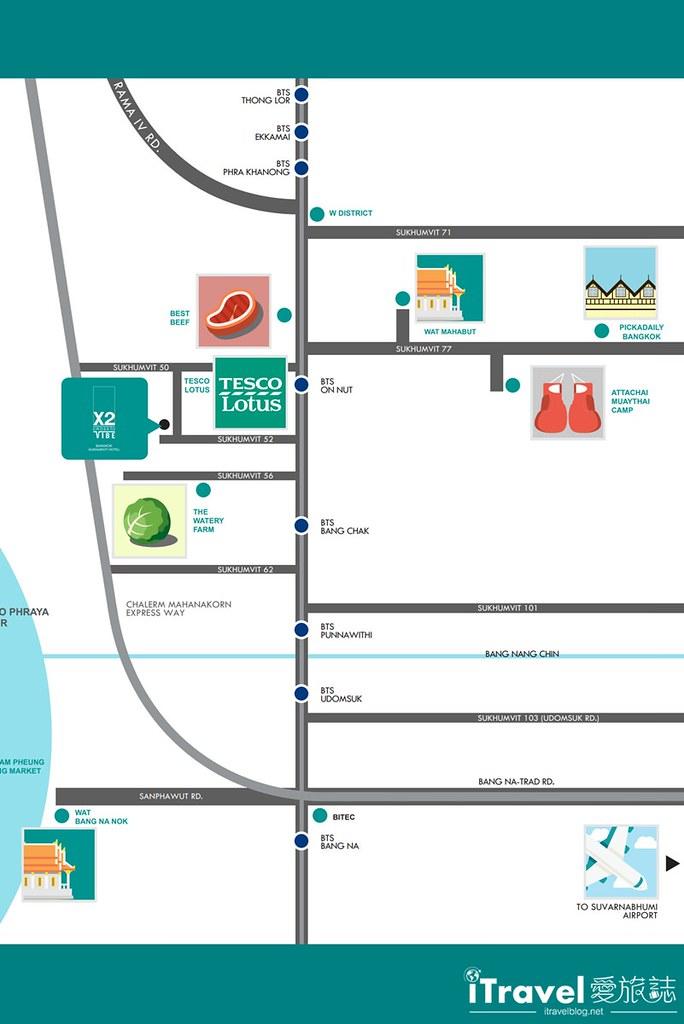 素坤逸路X2活力飯店 X2 Vibe Bangkok Sukhumvit (2)