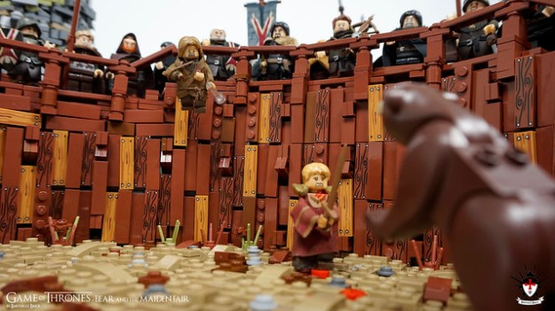 权力的游戏——熊和少女公平——Barthezz砖10