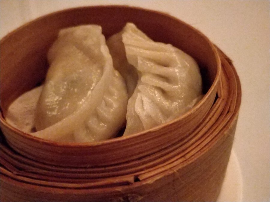the monogamous Chinese hong kong mid level escalator restaurant dumplings