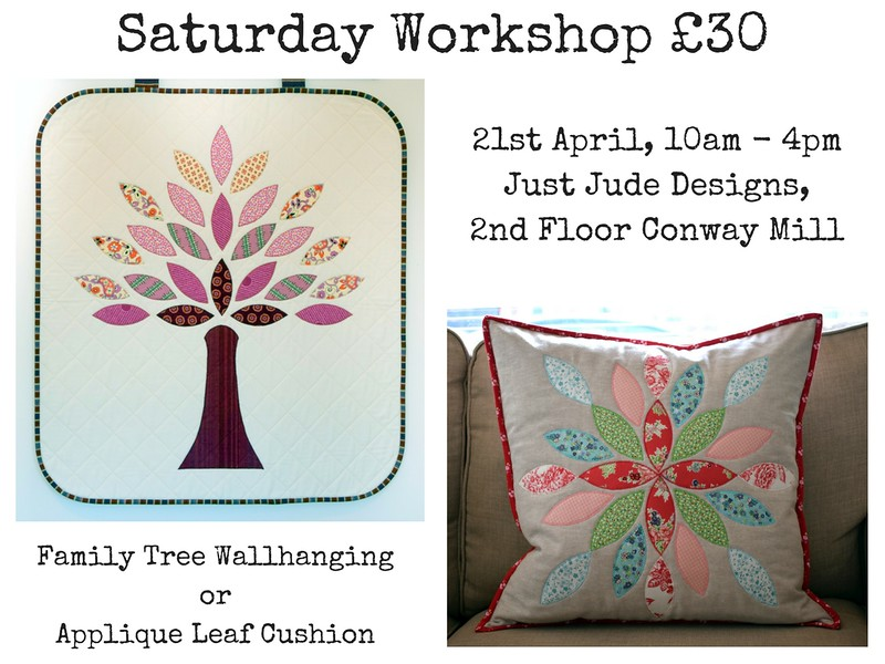 Applique WH & Cushion workshop