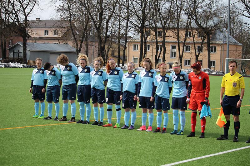 7.04.18 FC AJAX vs Tammeka (Naiste Meistriliiga)