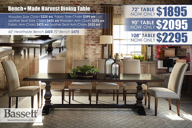 Benchmade Harvest Dining Table_4015-0842A-Harvest-Bridle-SP15