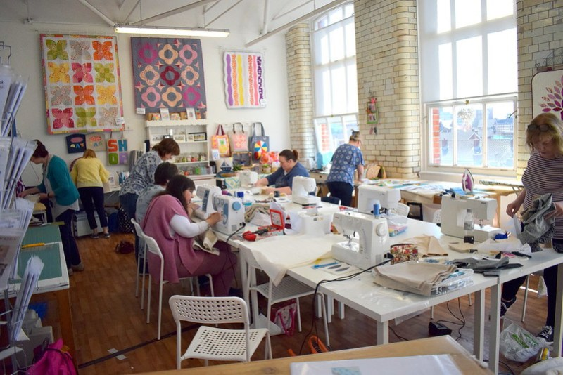 Applique Cushion/Wallhanging Workshop April'18