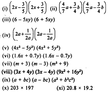 Maths Questions For Class 8 ICSE With Answers-algebraic-identities-D-2