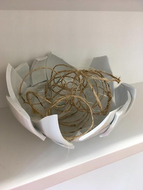 Mend Piece by Yoko Ono at Rennie Gallery